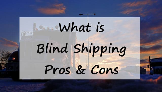 What is blind shipping